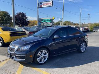 Used 2016 Chevrolet Cruze 2LT for sale in Cobourg, ON