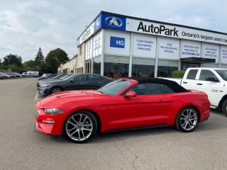 Used 2019 Ford Mustang EcoBoost Premium NAV | HEATED SEATS | VENTILATED SEATS | COVERTIBLE ROOF | for sale in Brampton, ON