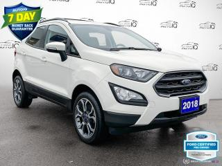 Used 2018 Ford EcoSport SES AWD Leather/Navi/Moonroof for sale in St Thomas, ON