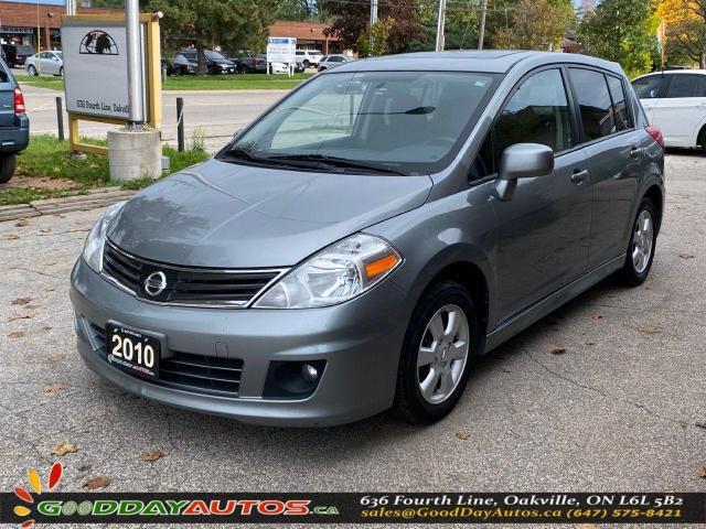 2010 Nissan Versa 1.8 SL|LOW KM|NO ACCIDENT|BLUETOOTH|CERTIFIED