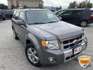 Used 2011 Ford Escape Limited | ALLOYS | KEYLESS ENTRY | LEATHER INTERIOR | for sale in Barrie, ON