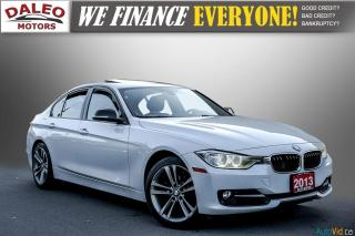 Used 2013 BMW 3 Series 328i xDrive / LOADED / NAVI / LEATHER / KEYLESS GO for sale in Hamilton, ON