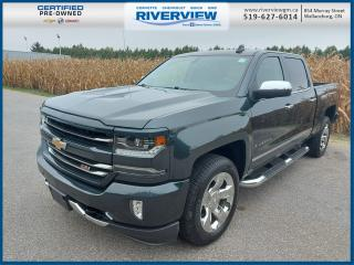 Used 2018 Chevrolet Silverado 1500 2LZ 4WD | Towing Package | OnStar | Spray-On Bed Liner for sale in Wallaceburg, ON