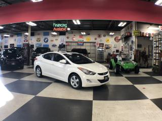 Used 2013 Hyundai Elantra GLS 5 SPEED A/C P/SUNROOF H/SEATS CRUISE for sale in North York, ON