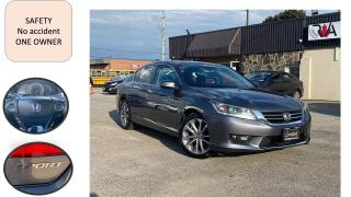 Used 2014 Honda Accord AUTO SPORT ONE OWNER NO ACCIDENT SAFETY B-TOOTH B- for sale in Oakville, ON
