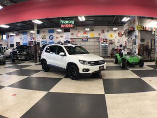 Used 2016 Volkswagen Tiguan 2.0 TSI SPECIAL EDITION AUT0 AWD PANO/ROOF P/START for sale in North York, ON