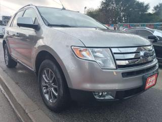 Used 2008 Ford Edge LIMITED-AWD-LEATHER-DVD-BLUETOOTH-AUX-ALLOYS for sale in Scarborough, ON