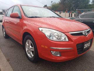 Used 2012 Hyundai Elantra Touring GLS-EXTRA CLEAN-ONLY 108K-4 CYL-AUX-ALLOYS for sale in Scarborough, ON