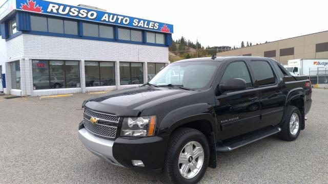 2013 Chevrolet Avalanche LT 4x4 Black On Black Leather