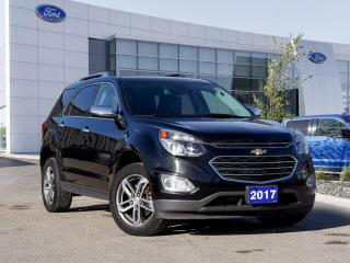 Used 2017 Chevrolet Equinox Premier CLEAN CARFAX | HTD LTHR | PWR TGATE for sale in Winnipeg, MB