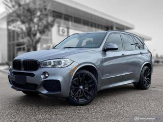 Used 2018 BMW X5 xDrive35d Accident Free! Local! M Sport! New Tires! for sale in Winnipeg, MB