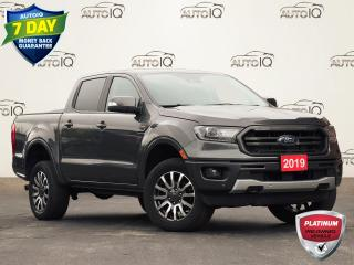 Used 2019 Ford Ranger Lariat LARIAT   ECOBOOST   2.3L   4WD   TURBOCHARGED   CLASS IV TRAILER HITCH RECEIVER   DUAL A/C   LARIAT for sale in Waterloo, ON