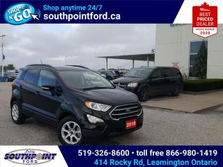Used 2018 Ford EcoSport SE|HEATED SEATS|BACKUP CAMERA|BLUETOOTH for sale in Leamington, ON