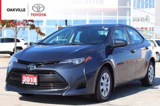 Used 2018 Toyota Corolla CE with New Tires, Clean Carfax, and Toyota Safety Sense for sale in Oakville, ON