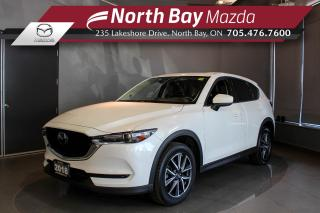 Used 2018 Mazda CX-5 GT Heated Seats - Nav - Power Tailgate for sale in North Bay, ON