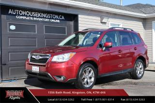Used 2015 Subaru Forester 2.5i Limited Package LEATHER - BACK UP CAM - NAVIGATION for sale in Kingston, ON