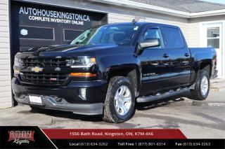 Used 2017 Chevrolet Silverado 1500 2LT CLEAN CARFAX - 4X4 - BACK UP CAM for sale in Kingston, ON