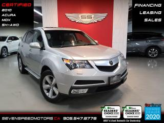 Used 2010 Acura MDX ACCIDENT FREE I FINANCE I CERTIFIED for sale in Oakville, ON