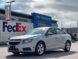 Used 2014 Chevrolet Cruze 2LT / AUTOMATIC / REMOTE STARTER / LEATHER INT / for sale in Brampton, ON
