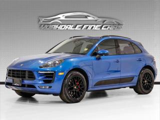 Used 2017 Porsche Macan GTS AWD. 360HP, Alcantara Int, Bose Sound, Pano, Loaded! for sale in Concord, ON