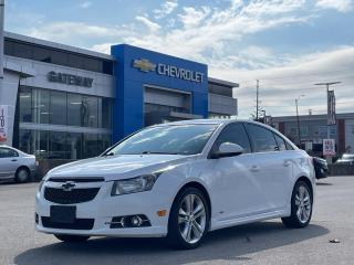 Used 2013 Chevrolet Cruze LT Turbo/ RS / LEATHER / VERY CLEAN / for sale in Brampton, ON