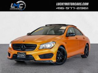 Used 2014 Mercedes-Benz CLA250 4MATIC AMG SPORT PKG-PANOROOF-CAMERA-87KMS for sale in Toronto, ON
