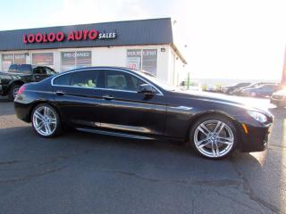 Used 2014 BMW 6 Series 650i xDrive M Sport Pkg Navi Heads Up Display Certified for sale in Milton, ON