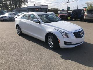 Used 2016 Cadillac ATS 2.0L Luxury AWD for sale in Truro, NS