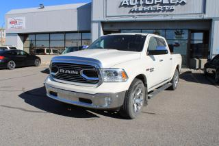 Used 2017 RAM 1500 Longhorn Crew Cab SWB 4WD for sale in Calgary, AB