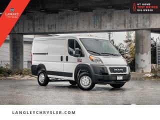 Used 2020 RAM ProMaster Cargo 1500 Low Roof 118  Backup/ Leather/ Bluetooth/ No Accidents for sale in Surrey, BC