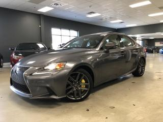 Used 2014 Lexus IS 350 F-SPORT*NAVIGATION*BACK-UP CAMERA*NO ACCIDENTS* for sale in North York, ON