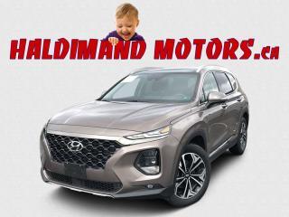 Used 2020 Hyundai Santa Fe ULTIMATE HTRAC AWD for sale in Cayuga, ON