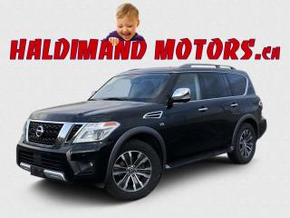 Used 2018 Nissan Armada SL AWD for sale in Cayuga, ON