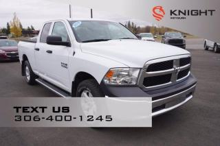 Used 2018 RAM 1500 ST | Keyless Entry | Tow Package | Tonneau Cover for sale in Weyburn, SK