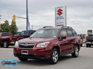 Used 2014 Subaru Forester 2.5i AWD ~Heated Seats ~Power Windows + Locks ~A/C for sale in Barrie, ON