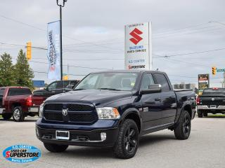 Used 2018 RAM 1500 Outdoorsman Crew 4x4 ~Heated Seats/Wheel ~Camera for sale in Barrie, ON