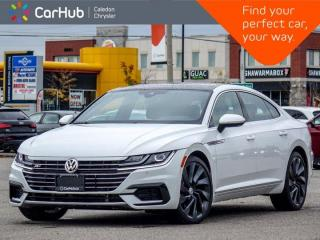 Used 2020 Volkswagen Arteon Execline AWD Only 5258 Km Navigation Sunroof Remote Start Blind Spot Leather 20
