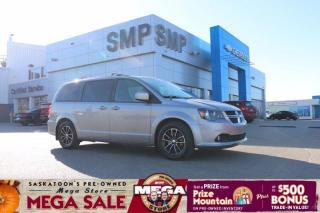 Used 2019 Dodge Grand Caravan GT- Leather, DVD, Nav, Rem Start, Pwr Sliding Doors for sale in Saskatoon, SK