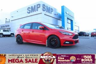 Used 2016 Ford Focus ST - 6 Speed Manual, Leather, Sunroof for sale in Saskatoon, SK