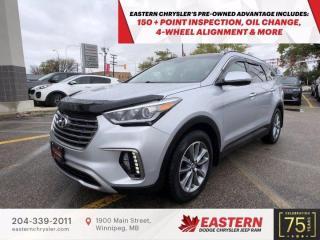 Used 2017 Hyundai Santa Fe XL Luxury | 1 Owner | 3rd Row Seats | for sale in Winnipeg, MB