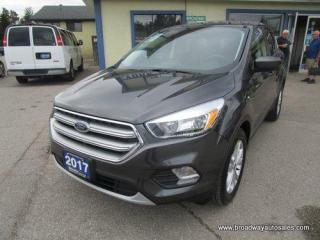 Used 2017 Ford Escape POWER EQUIPPED SE-EDITION 5 PASSENGER 1.5L - ECO-BOOST.. HEATED SEATS.. BACK-UP CAMERA.. BLUETOOTH SYSTEM.. KEYLESS ENTRY.. for sale in Bradford, ON