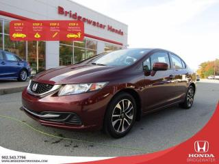 Used 2015 Honda Civic Sedan EX for sale in Bridgewater, NS