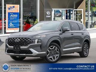 New 2022 Hyundai Santa Fe Ultimate Calligraphy for sale in Huntsville, ON