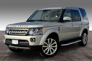 Used 2016 Land Rover LR4 HSE LUX for sale in Langley, BC