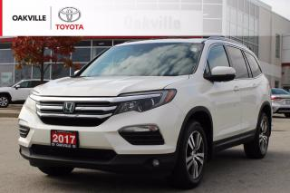 Used 2017 Honda Pilot EX-L Navi EX-L 4WD 8-Passenger with Leather Seats and Remote Starter for sale in Oakville, ON