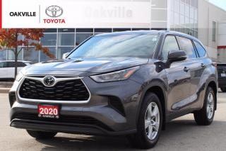 Used 2020 Toyota Highlander LE AWD 8-Passenger with Clean Carfax for sale in Oakville, ON