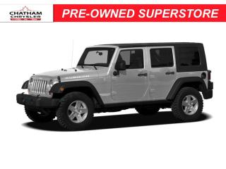 Used 2008 Jeep Wrangler Unlimited Sahara for sale in Chatham, ON