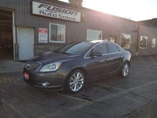 Used 2012 Buick Verano w/1SL-LEATHER-HEATED SEATS-BLUETOOTH-PWR SEAT for sale in Tilbury, ON