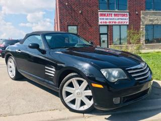 Used 2005 Chrysler Crossfire LTD~SOFT TOP CONVERTIBLE~CLEAN CARFAX~CERTIFIED! for sale in Rexdale, ON