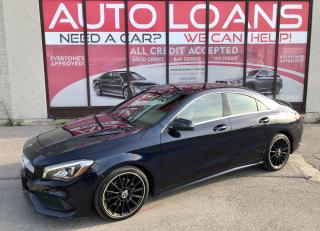 Used 2018 Mercedes-Benz CLA-Class CLA 250-ALL CREDIT ACCEPTED for sale in Toronto, ON